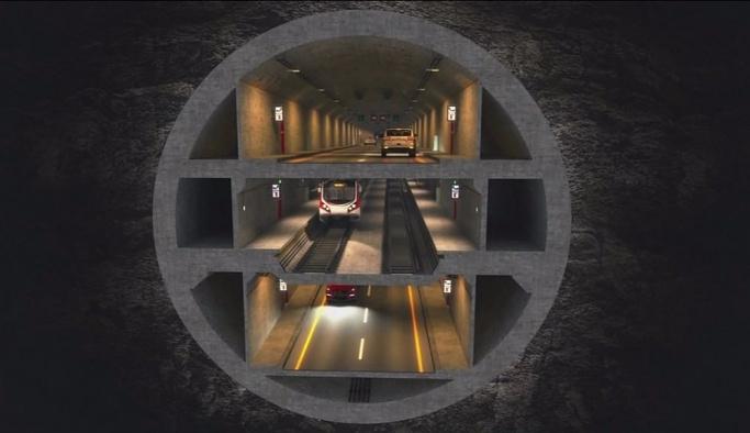 3 katlı büyük İstanbul tüneli çevreci olacak