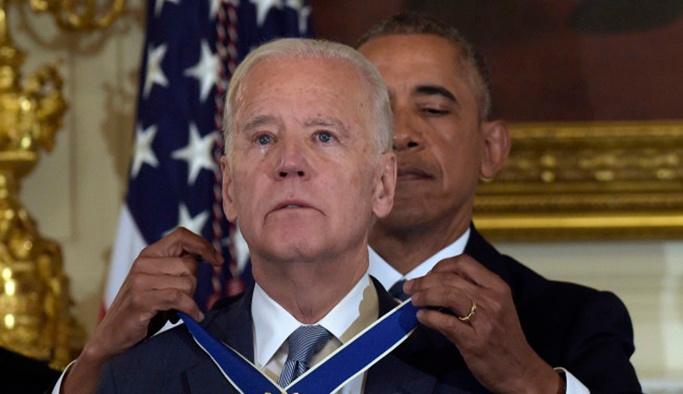 Biden Beyaz Saraydan Uğurlandı