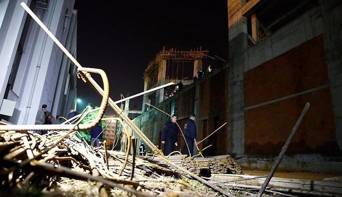 Akdeniz Üniversitesi'nde iskele çöktü, 7 yaralı