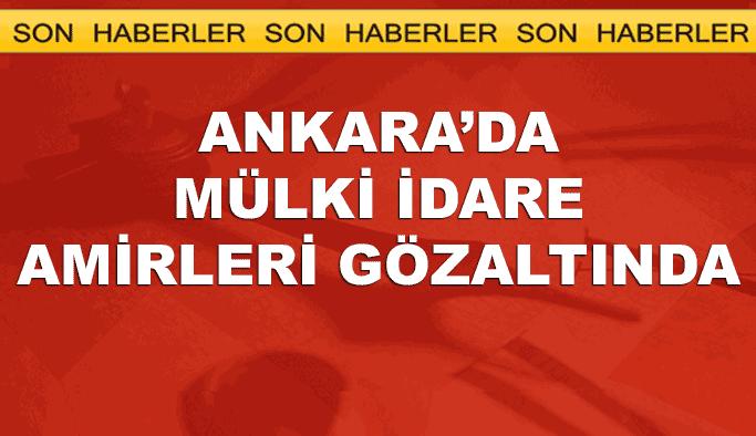 Ankara'da dev operasyon: Kritik isimler gözaltında