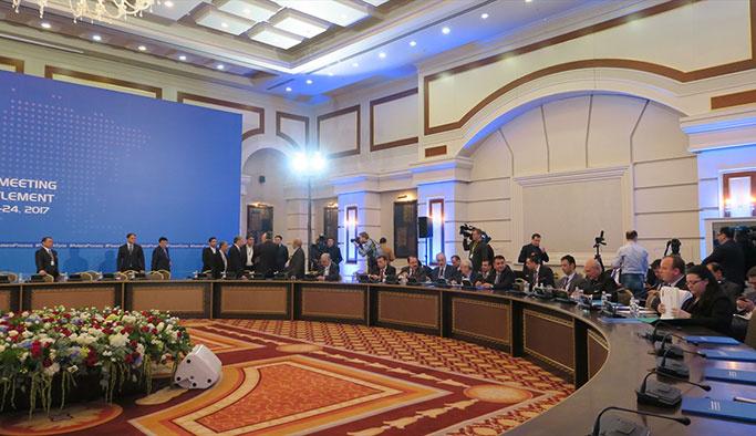 Astana'daki Suriyeli muhalifler: Uygulama bekliyoruz