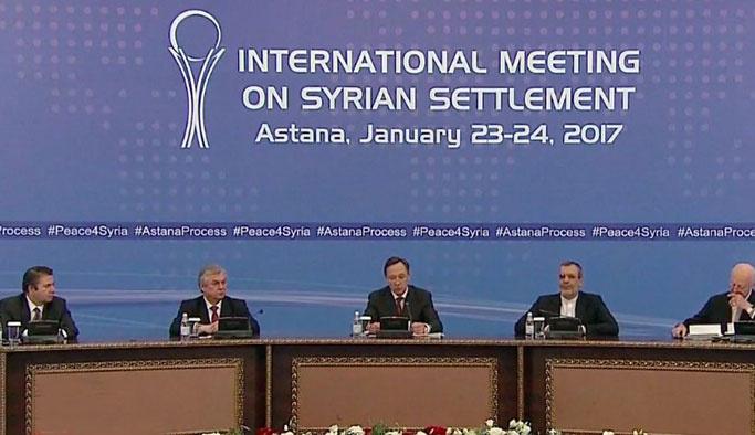 Astana'dan ilk açıklama geldi: Siyasi çözüm şart