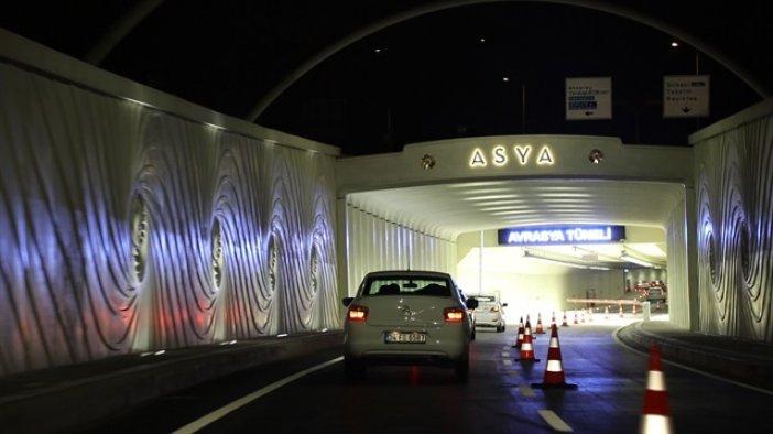Avrasya Tüneli 24 saat hizmete başladı