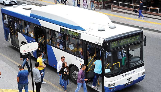Başkentte toplu taşıma ücretlerine zam
