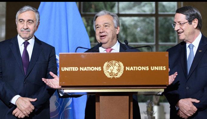 BM Kıbrıs çözümünün adını koydu: Federe devlet