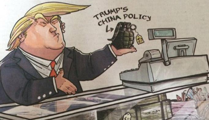 Çin'den Trump'a uyarı: Gözünün yaşına bakmayız