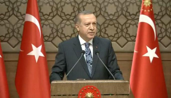 Cumhurbaşkanı Erdoğan muhtarlara sesleniyor
