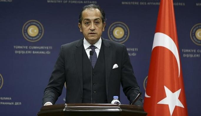 Türkiye'den Yunanistan'a 'adalar' tepkisi