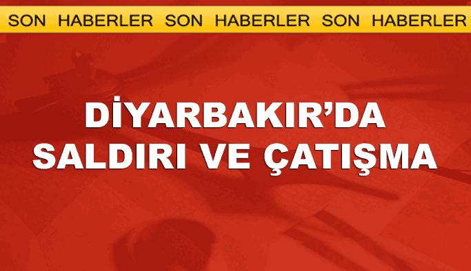 Diyarbakır Çınar'da saldırı, çatışma sürüyor