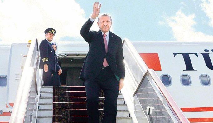 Erdoğan 3 ülkeye ilk kez gidecek