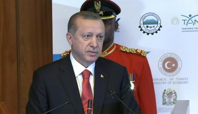 Erdoğan Tanzanya'daki FETÖ'cüler için uyardı