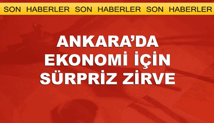 Erdoğan ekonomi kurmaylarını topluyor