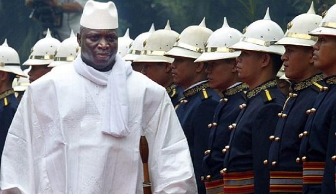 Eski lider Jammeh istifa etmeye razı oldu