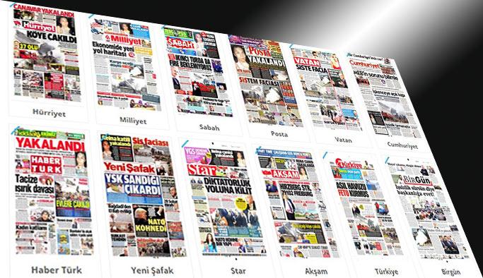 Günün gazete manşetleri - 17 Ocak