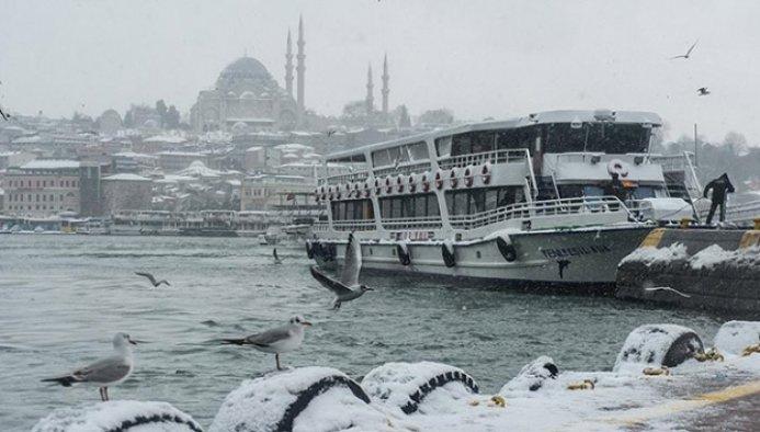 İstanbul ve Ankara için kar uyarısı