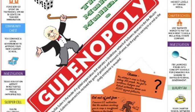 Monopoly oyununu FETÖ'ye uyarladılar
