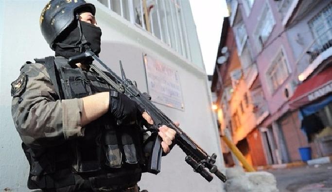 Öldürülen teröristin ardından operasyon genişletildi