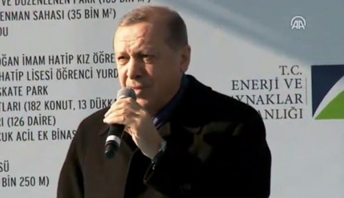 Referandumla ilgili Erdoğan'dan ilk açıklama