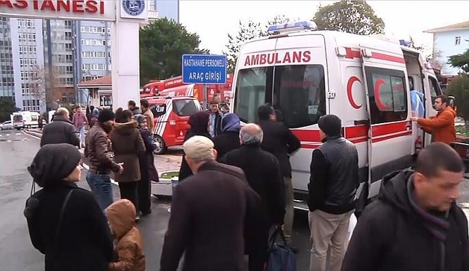 Şişli Etfal Hastanesi'ndeki yangın söndürüldü
