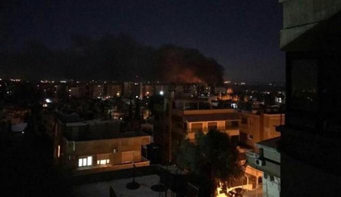 İsrail Suriye'yi bombaladı