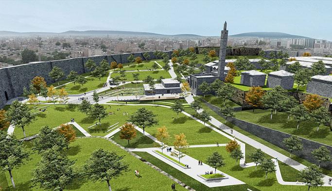 Sur'da tarih yeşil ile, halk sosyal alanlar ile buluşacak