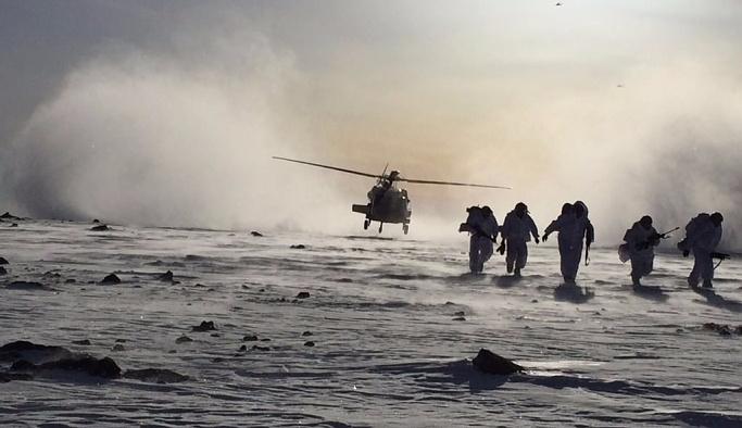 Hain pusunun kurulduğu Tendürek'e yeniden operasyon