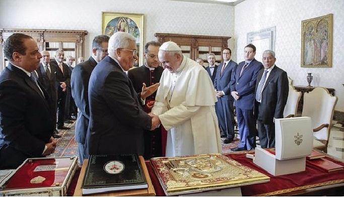 Vatikan'da Filistin büyükelçiliği açılışı yapıldı