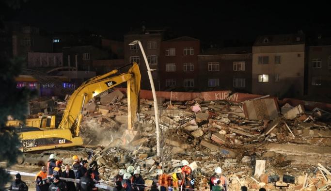 Zeytinburnu'nda arama kurtarma çalışmaları sona erdi