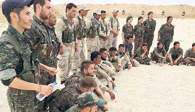 ABD'den YPG-PKK militanlarına maaş
