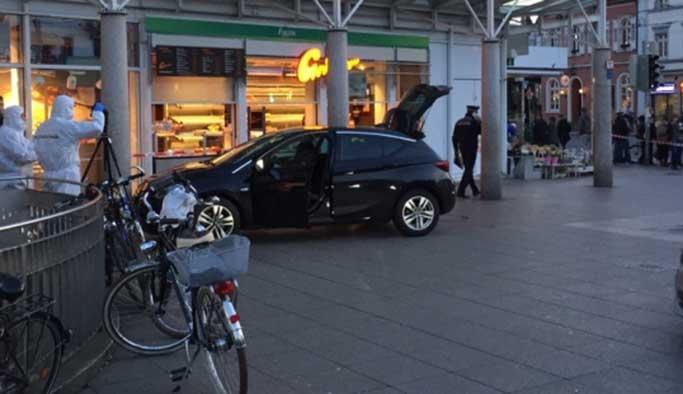 Almanya'da otomobille saldırı girişimi