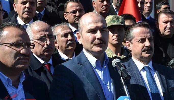 Bakanlardan Viranşehir'de ortak açıklama