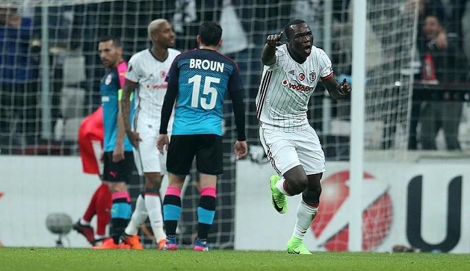 Beşiktaş Avrupa Ligi'nde tur atladı