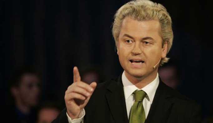 İslam düşmanı Wilders'tan Türklere 'gidin' çağrısı