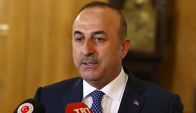 Çavuşoğlu: 'ENOSİS' kabul edilemez