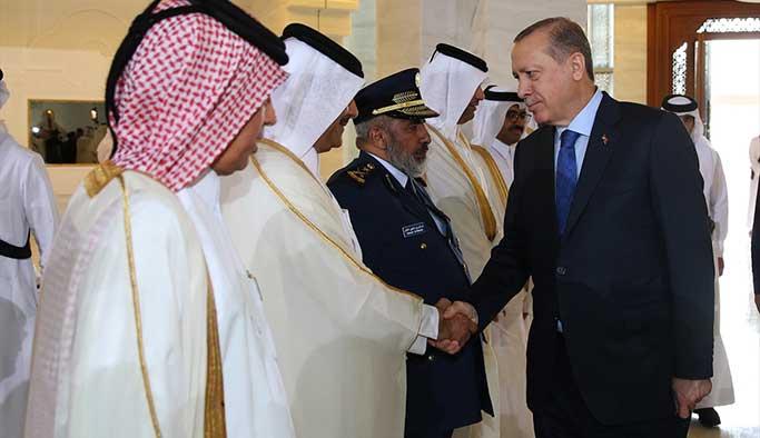 Erdoğan'ın Körfez ziyareti sona erdi