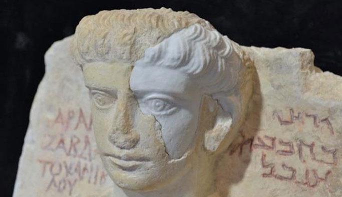 DEAŞ'ın kırdığı Palmira büstlerine 'protez'li çözüm