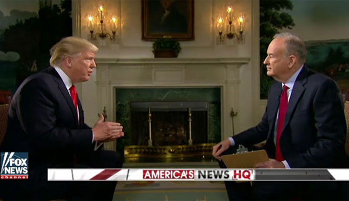 Trump: ABD sanki çok mu masum?