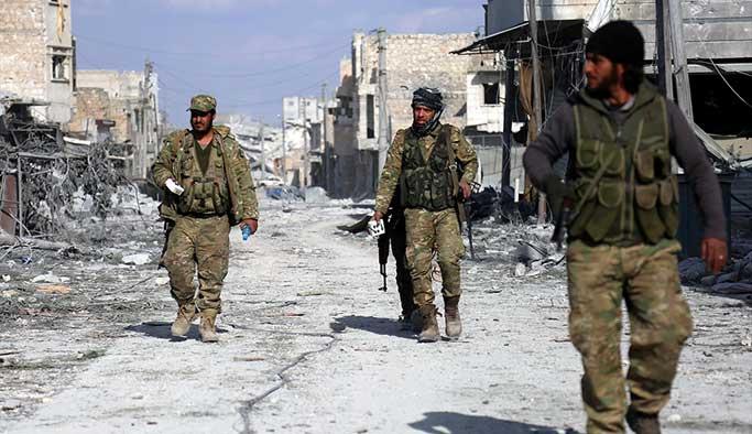 El Bab'da korkulan oldu, rejimle çatışmalar başladı