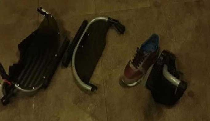 Engelli vatandaş kendini metronun altına attı