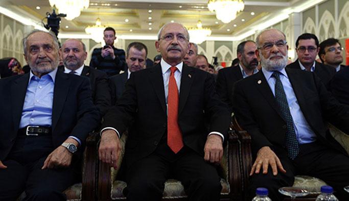 Erbakan'ı anma gecesinde Kılıçdaroğlu ve Feyzioğlu konuştu