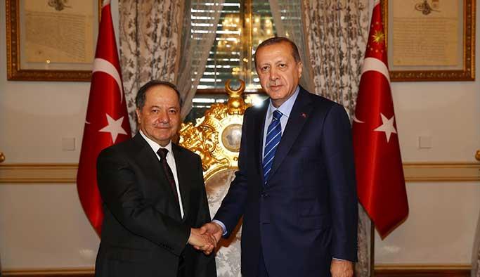 Erdoğan-Barzani görüşmesinden ilk açıklama