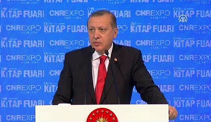 Erdoğan: Biz kendimizi yazmazsak başkalarına esir oluruz