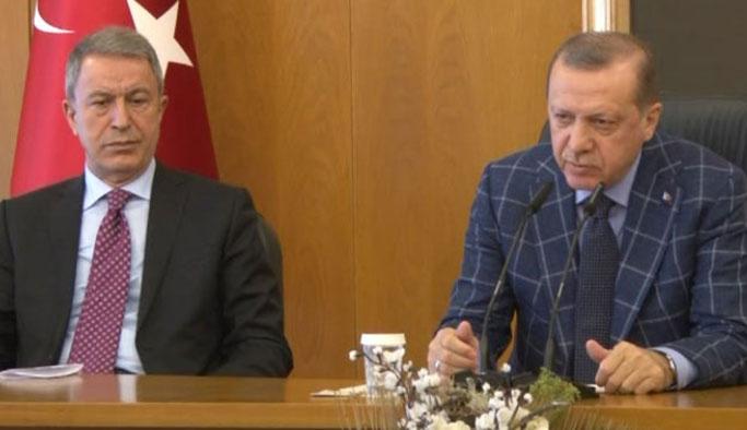 Erdoğan, Hulusi Akar'la ne görüştüğünü açıkladı