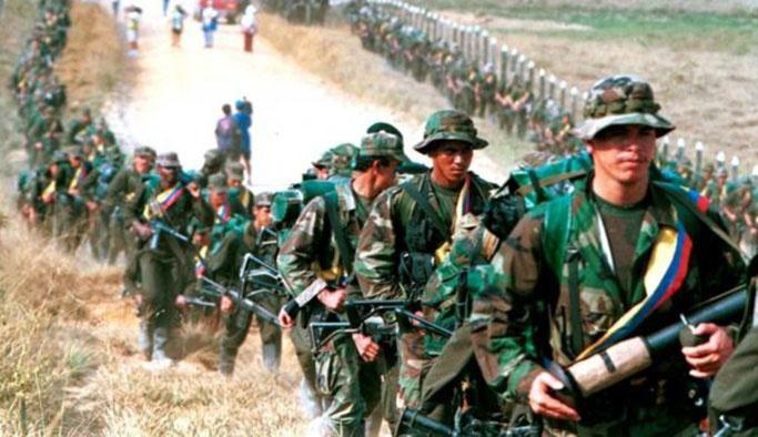 FARC militanları silah bırakma alanlarına ulaştı