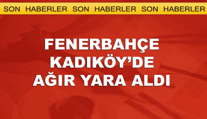 Fenerbahçe kendi evinde puan kaybetti