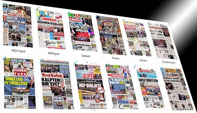 Gazetelerin bugün manşetleri - 26 Şubat 2017