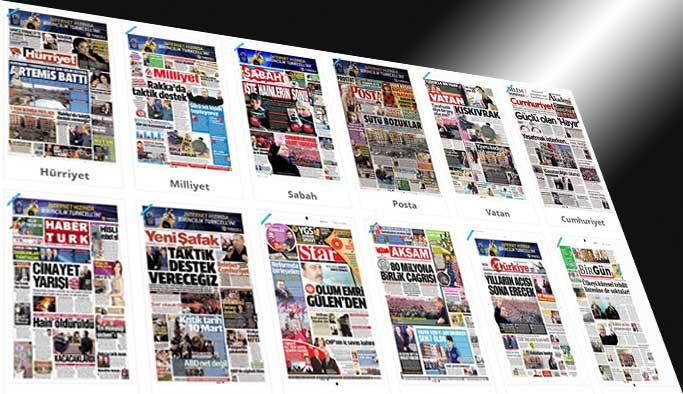 Gazetelerin bugünkü manşetler -19 Şubat 2017