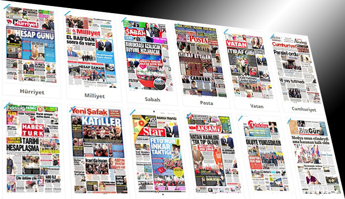 Gazetelerin bugünkü manşetleri - 21 Şubat 2017