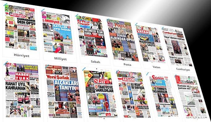 Gazetelerin bugünkü manşetleri - 22 Şubat 2017