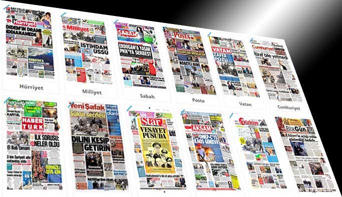 Gazetelerin bugünkü manşetleri - 24 Şubat 2017
